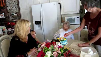 Singing Happy Birthday to Willie
