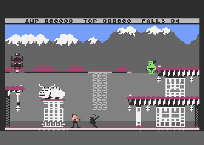 Atari 800 XE Bruce Lee