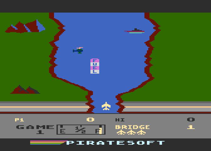 Atari 800 XE River Raid