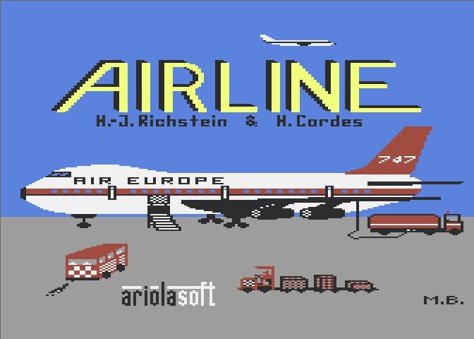 Atari 800 XE Airline