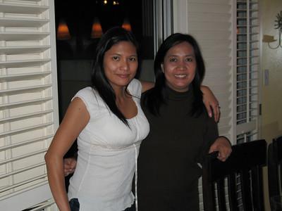 Ate Millote & Kuya Marlex Visit - May 2007