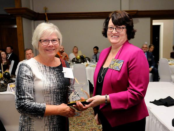 Don Knight    The Herald Bulletin<br /> Community Shining Star winner Nanette Gray.