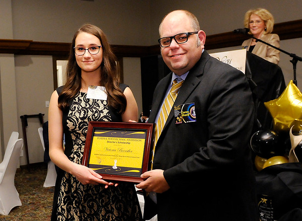 Don Knight    The Herald Bulletin<br /> Victoria Boerstler received a Purdue Polytechnic Director's Scholarship.