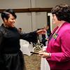 Don Knight |  The Herald Bulletin<br /> Community Shining Star winner Sherry Peak-Davis.