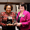 Don Knight |  The Herald Bulletin<br /> Community Shining Star winner Dr. Treva Bostic.