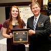 Don Knight |  The Herald Bulletin<br /> Emily Cain received a Women of Achievement Scholarship.