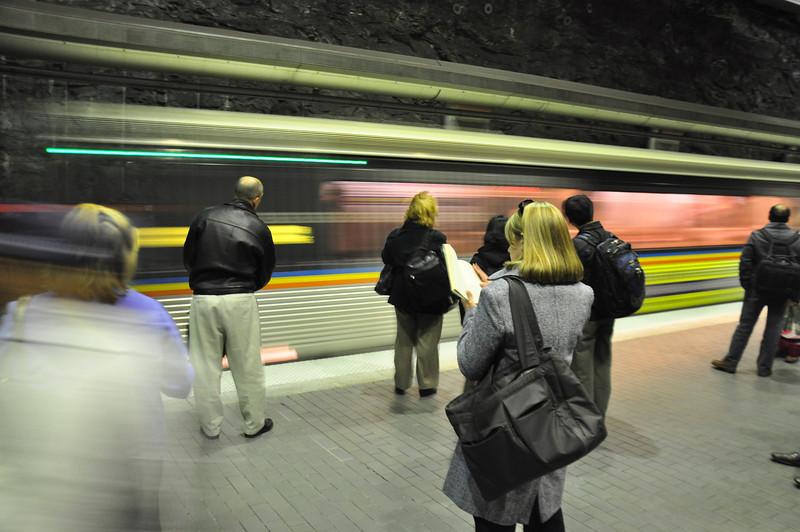 Love the blur these trains create!
