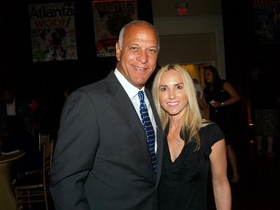 Former Atlanta Mayor, Bill Campbell and Guest.