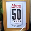 "Atlanta Magazine's 50th Anniversary : ATLANTA, GEORGIA - May 18, 2011. To mark its 50th Anniversary, Atlanta Magazine celebrated by throwing a party at the Grand Overlook Ballroom inside The Atlanta History Center. An exhibit commemorating the magazine's long history in the city entitled: ""Atlanta Magazine 1961-2011: 50 Years of the Changing City"" will be on display at the History Center throughout the entire summer. The exhibit includes magazine covers and photos from its archives and a documentary video. For more information, visit Atlanta Magazine at: http://www.atlantamagazine.com/"