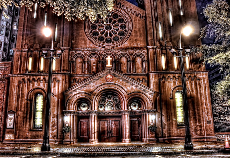 Basilica of the Sacred Heart of Jesus, Peachtree St, Atlanta GA