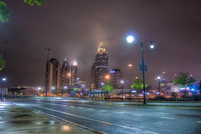 Midtown Skyline from Atlantic Station
