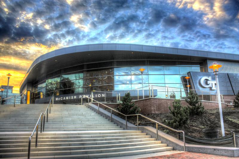 McCamish Pavillion, Georgia Tech                        ---Click Image for larger view--