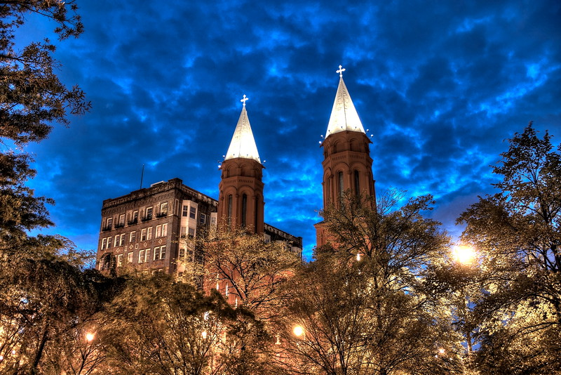 Basilica of the Sacred Heart of Jesus, Peachtree St, Atlanta GA