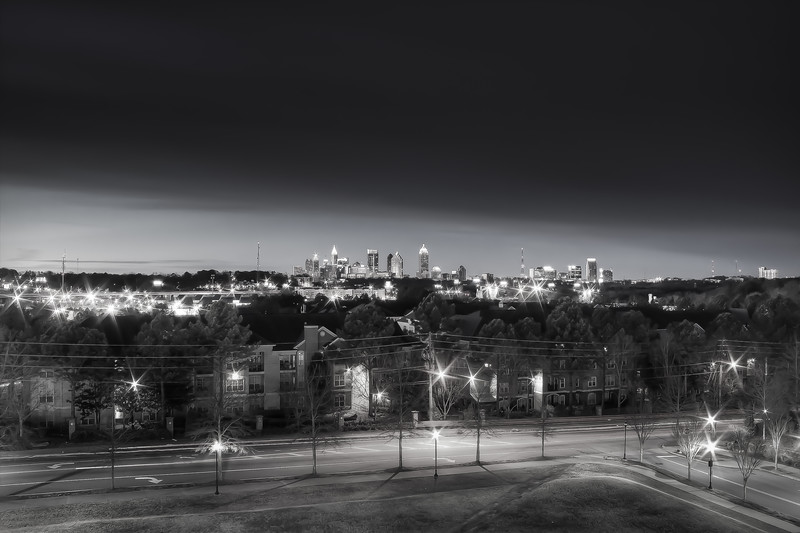 Atlanta Skyline from Linbergh Station