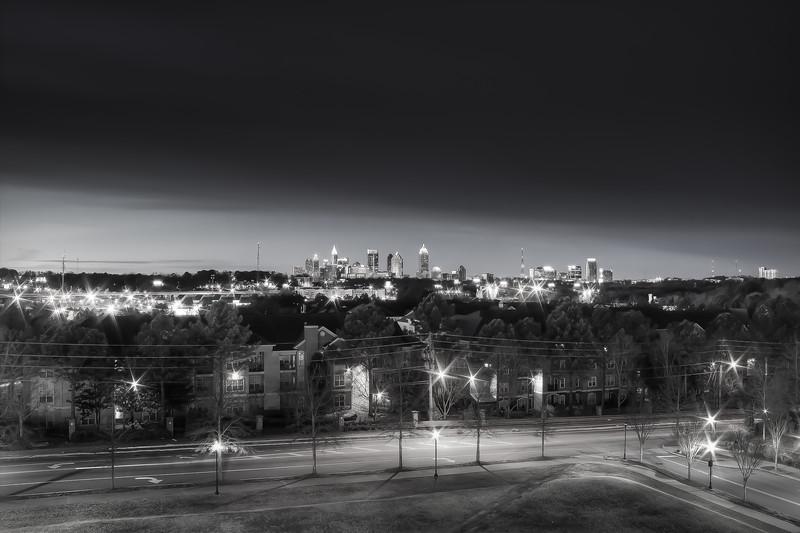 Atlanta Skyline from Linbergh Station