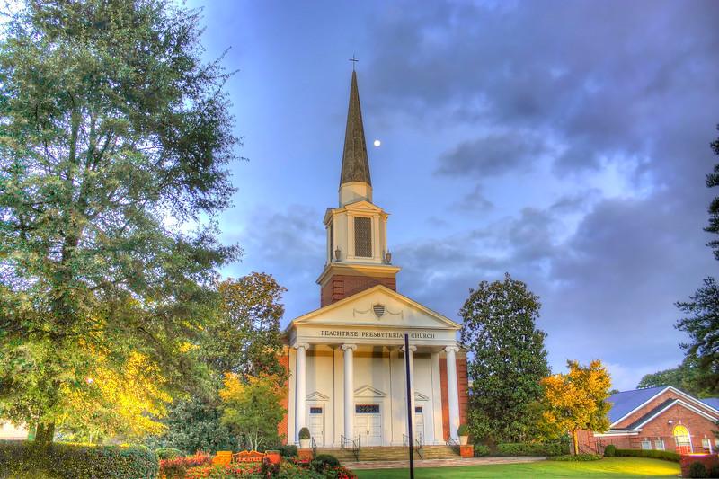 Peachtree Presbyterian Church, Buckhead Atlanta                        ---Click Image for larger view--
