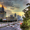 Midtown from Georgia Tech                        ---Click Image for larger view--