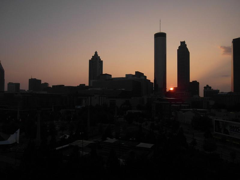 Sunrise over Atlanta