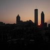 Sunrise over Atlanta