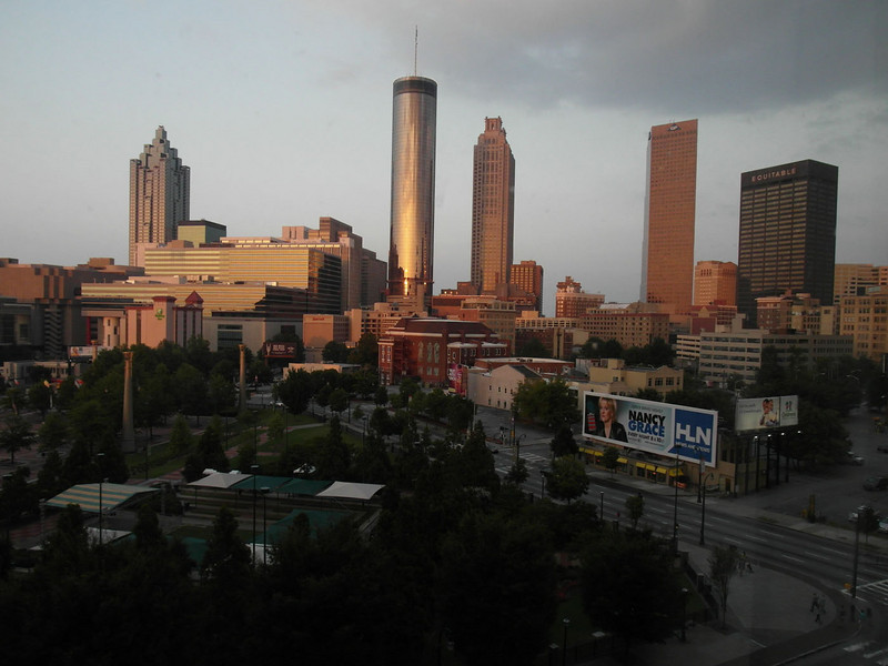 Atlanta Skyline from the Omni