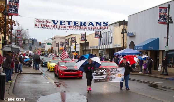 Auburn Veterans Day Parade 2015