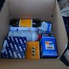 Box of parts from ECSTuning.com