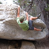 bouldering at the Knobs