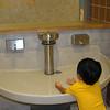 sinks that spray like fountains!