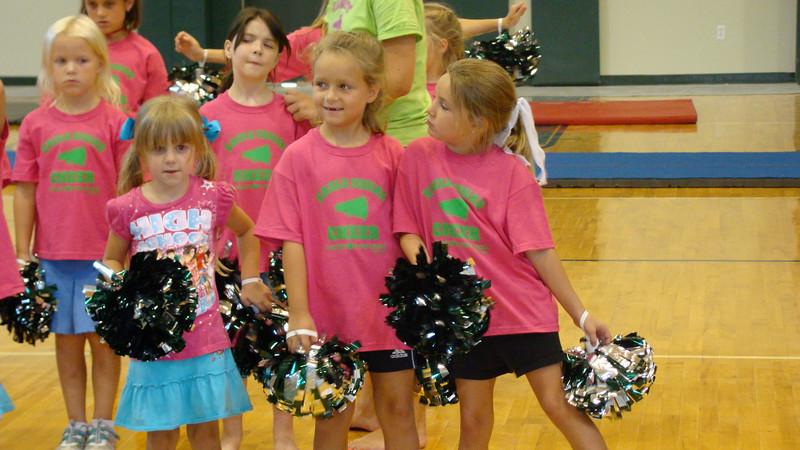 TCA mini cheer camp Aug. 08