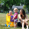 Lyla, Ansley, and Alysa Kirby enjoying a summer day.<br /> <br /> Photographer's Name: Morgan  Elbert<br /> Photographer's City and State: Alexandria, IN
