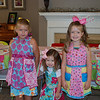 The girls with the aprons that Nana made!