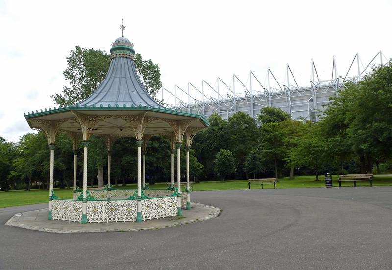 Leaze Park Newcastle 10th August 2013
