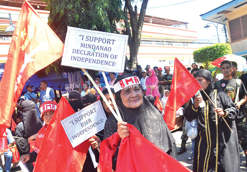 Peace rally for Independent Mindanao