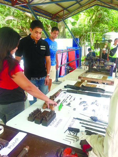 P700,000 worth of gun parts and machines seized in Cebu