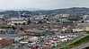 View from top of Transporter Bridge, Newport 18th August 2013