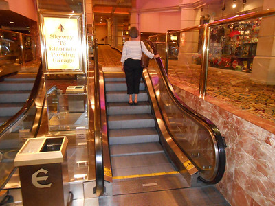 Smallest escalator ever!