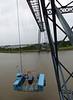 Moving platform of Transporter Bridge, Newport 18th August 2013
