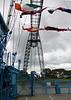 Car platform of Transporter Bridge, Newport 18th August 2013