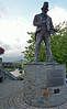 Tommy Cooper Statue, Caerphilly