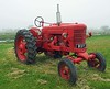 International tractor at Stevie Wilsons. Midlothian registration.
