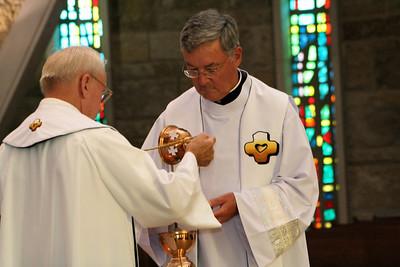 Frs. John Czyzynski and Tom Cassidy