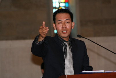 Fr. Vien Nguyen was the cantor at the Jubilee Mass.