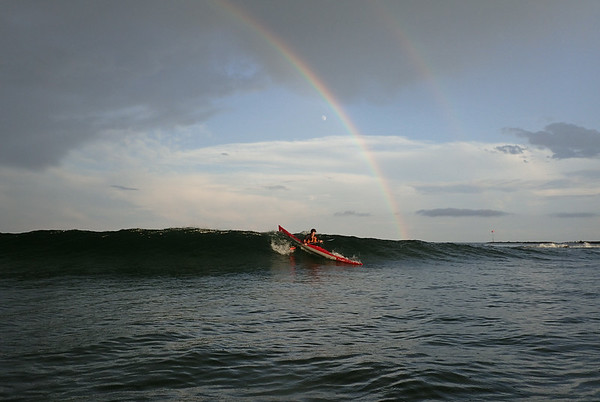 "August Surf Session ""RAINBOWS"""