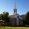 LDS Meetinghouse, Spanish Fork.  Where our daughter, Jill and her family attend.