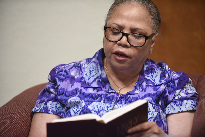 Augustana Lutheran Church, Houston | Sonjia Preston leads Adult Bible Study.