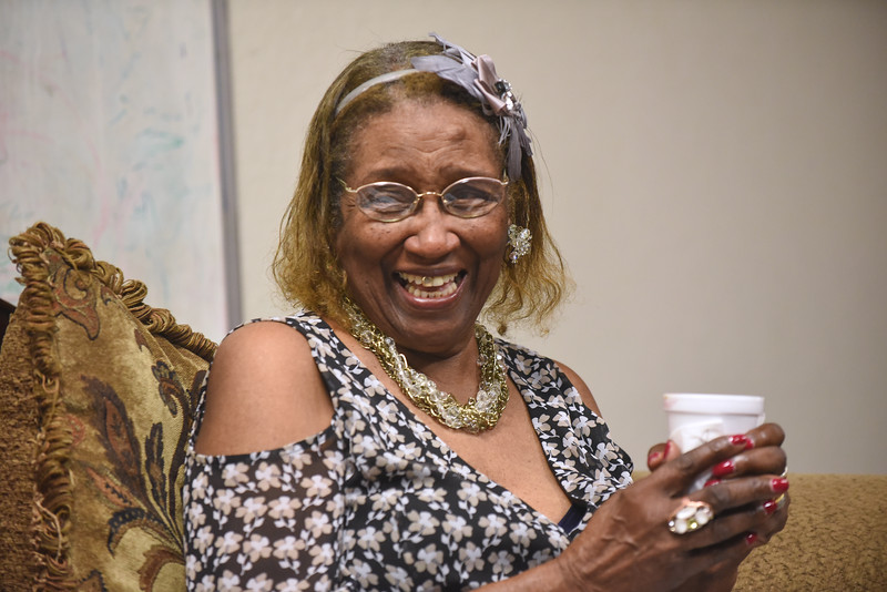Augustana Lutheran Church, Houston | Sammie L. Jackson teaches Adult Bible Study.