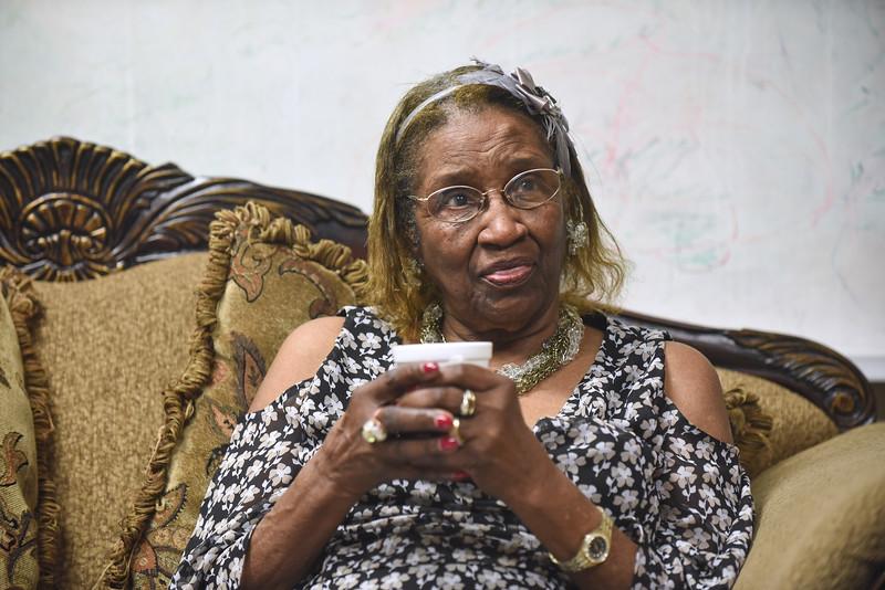 Augustana Lutheran Church, Houston   Sammie L. Jackson teaches Adult Bible Study.