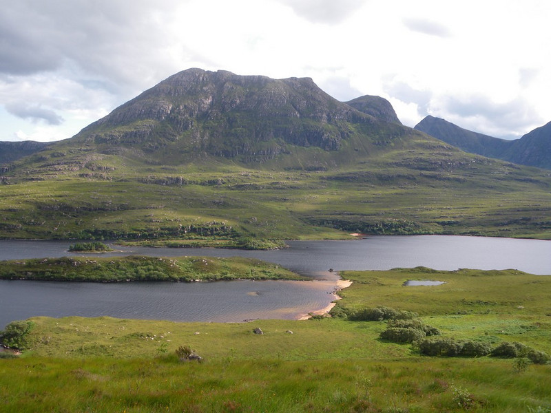 View out over the loch opposite