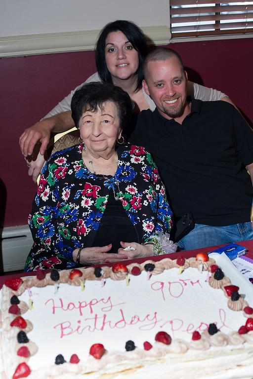 Aunt Pearl 2013 Birthday