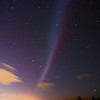 The arc of an aurora spanned the whole sky right over the zenith for over half an hour... Signal Hill, Dunedin. 15 July 2012, 11:25pm